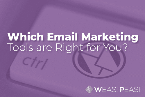 Which Email Marketing tool is right